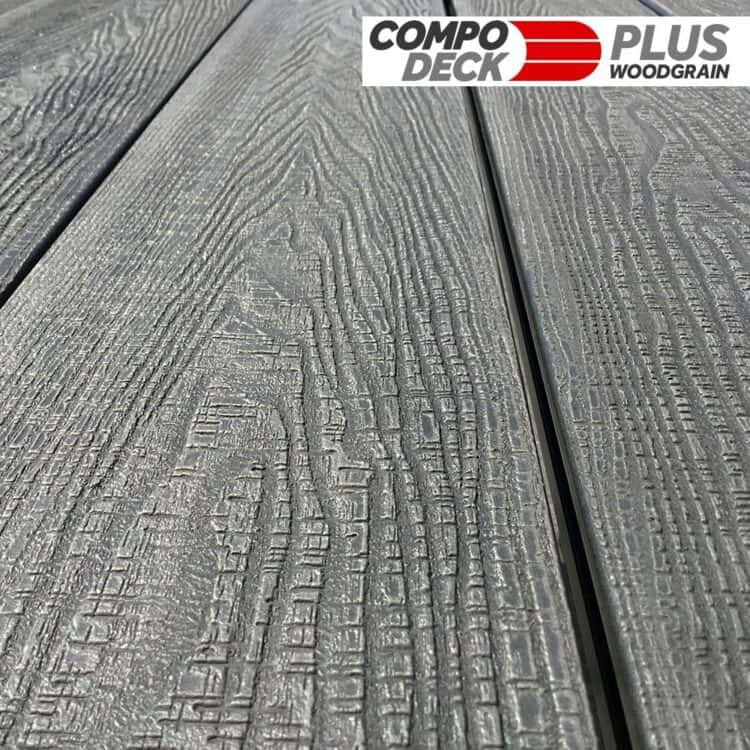 Compo Deck PLUS - Quality Wood Grain Composite Decking Boards